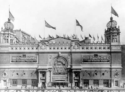 Nyc, Hippodrome Theatre, 1905 Art Print