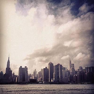 New York City Skyline Wall Art - Photograph - nyc by Kurt