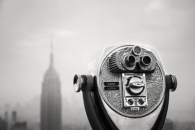 Nina Photograph - Nyc Viewpoint by Nina Papiorek