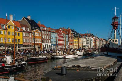 Photograph - Nyhavn Copenhagen by Jorgen Norgaard