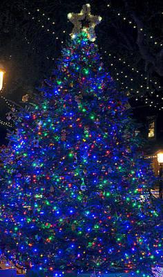 Christmas Holiday Scenery Photograph - O Christmas Tree by Kenneth Albin