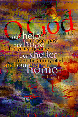 O God Our Help Art Print