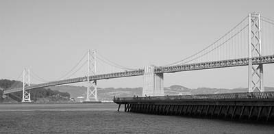 Photograph - Oakland Bay Bridge by Caroline Stella