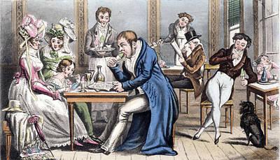 Politics Painting - Occupation Of Paris, 1815 by Granger