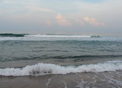 Art Print featuring the photograph Ocean At Buxton Nc 2 by Cathy Lindsey