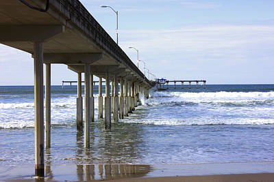 Photograph - Ocean Beach Pier by John Noel