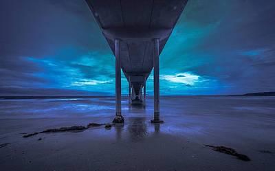 Ocean Beach Pier San Diego California Art Print by Ron Williams