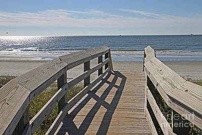 Photograph - Ocean Boardwalk by Kevin McCarthy