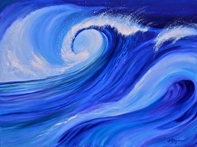 Ocean Emotion #1 Art Print
