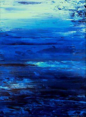 Ocean Mist  Art Print by Holly Anderson