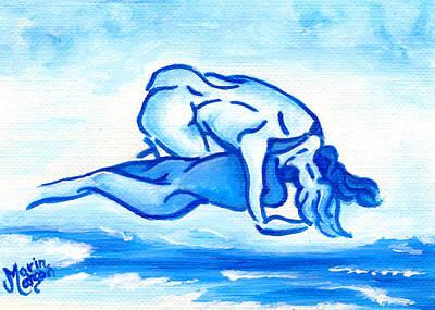 Painting - Ocean Of Desire by Monique Morin Matson