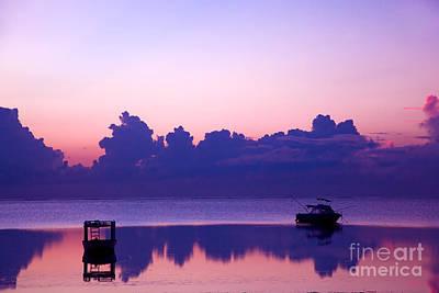 African Resort Photograph - Ocean Sunset. by Michal Bednarek