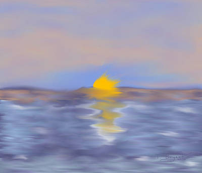 Painting - Oceanic Sunrise by Thomas Bryant