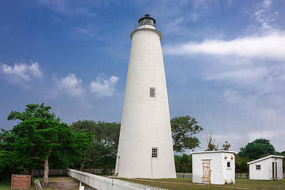 Photograph - Ocracoke Lighthouse by Mary Almond