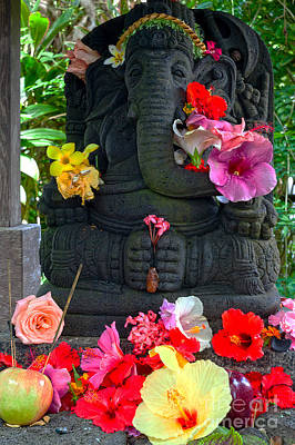 Parvati Photograph - Offerings by Roselynne Broussard