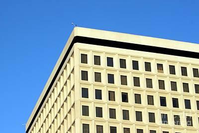 Down Town Los Angeles Photograph - Office Building by Henrik Lehnerer