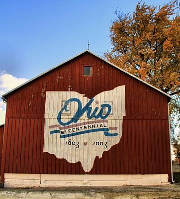 Bicentennial Photograph - Ohio by Dan Sproul