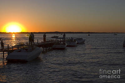 Steve Krull Royalty-Free and Rights-Managed Images - Okoboji Nights by Steve Krull