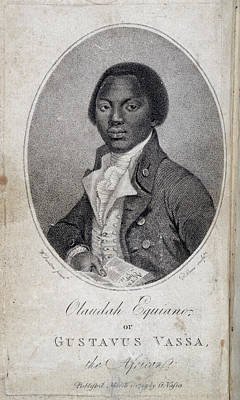 Slaves Photograph - Olaudah Equiano by British Library