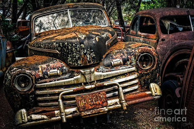 Old Rusty Ford Art Print