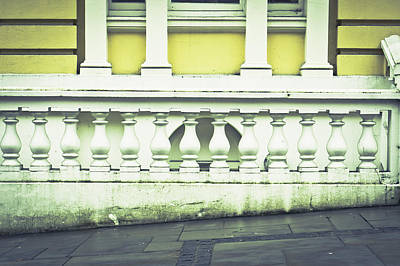 Old Architecture Art Print by Tom Gowanlock