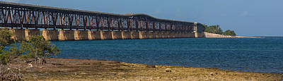 Photograph - Old Bahia Honda Bridge by Ed Gleichman