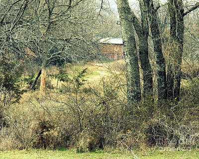 Photograph - Old Barn by Mickey Harkins
