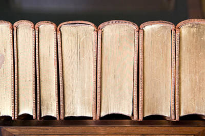 Scripture Photograph - Old Books by Tom Gowanlock