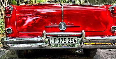 Photograph - Old Car  by Perry Frantzman