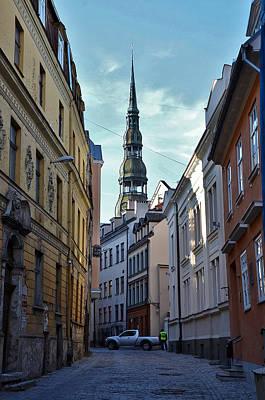 Old City Street Original by Gynt