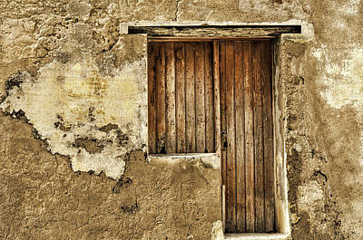 Photograph - Old Door by Maria Coulson