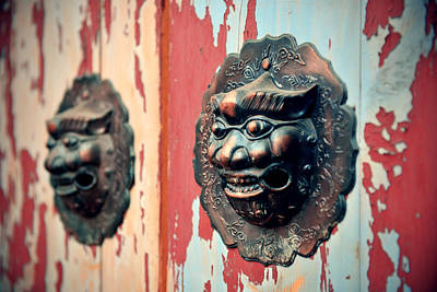 Photograph - Old Door by Songquan Deng