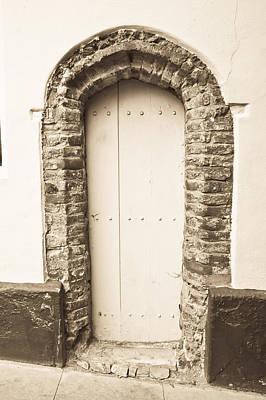 Rustic Scenes Photograph - Old Doorway by Tom Gowanlock
