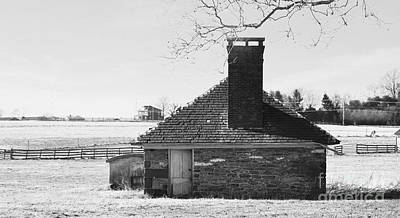 Photograph - Old Farm Spring House by Bob Sample