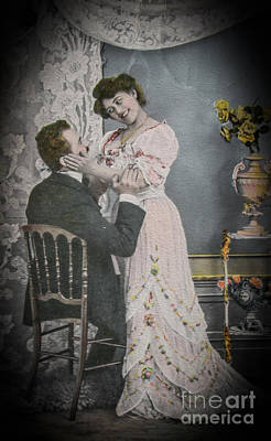 Photograph - Old Fashioned Love by Patricia Hofmeester