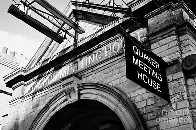 old friends meeting house frederick street Belfast Northern Ireland UK Art Print