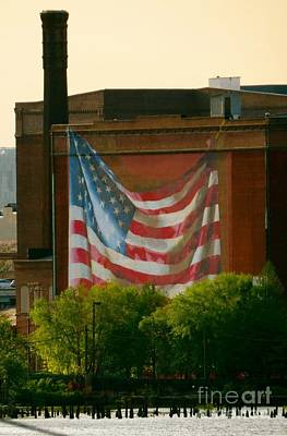 Photograph - Old Glory  by Nancy Patterson