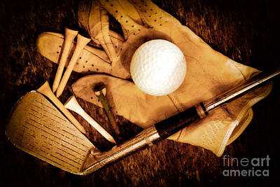 Golf Photograph - We Are Not Old We Are Vintage by Charline Xia