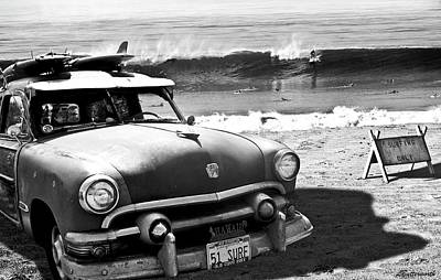 California Beach Photograph - Old Guys Rule by Larry Butterworth