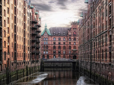 Hamburg Photograph - Old Hamburg by Joachim G Pinkawa