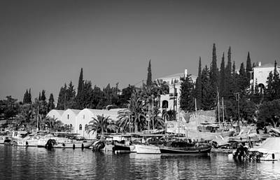 Photograph - Old Harbour In Spetses Town by Paul Cowan