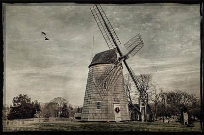 Old Hook Windmill Art Print