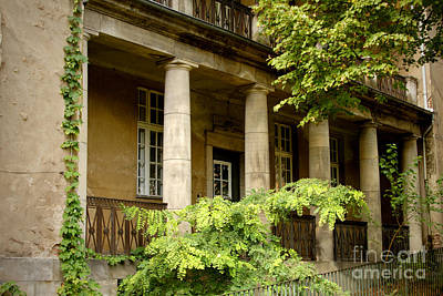 Art Print featuring the photograph Old Hospital In Berlin Buch by Art Photography