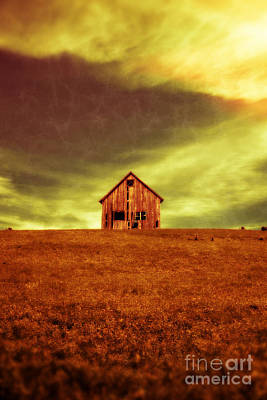 Haunted House Photograph - Old House On The Hill by Edward Fielding