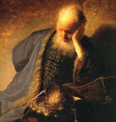 The Old Man Art Print by Rembrandt