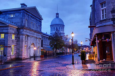 Montreal Photograph - Old Montreal by Denis Tangney Jr