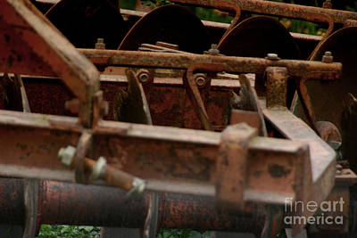 Photograph - Old Farm Machine by Doc Braham