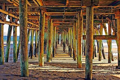 Photograph - Old Orchard Pier by Marcia Lee Jones