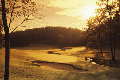 Photograph - Old Overton Golf Club by Stephen Szurlej