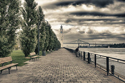 Old Port Of Montreal  Original by Joel  Bourgoin